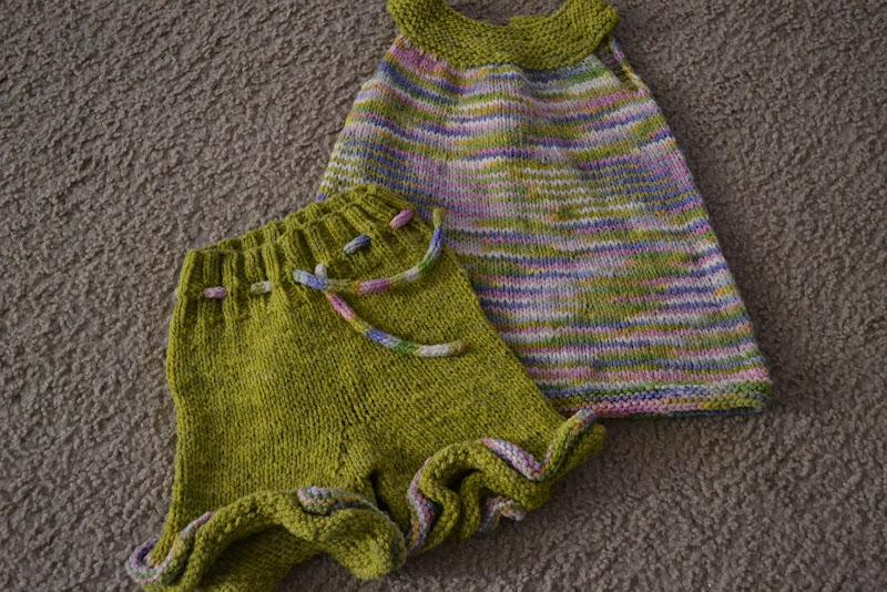 Elizabeth Tunic with ruffled shorts 6-12 month
