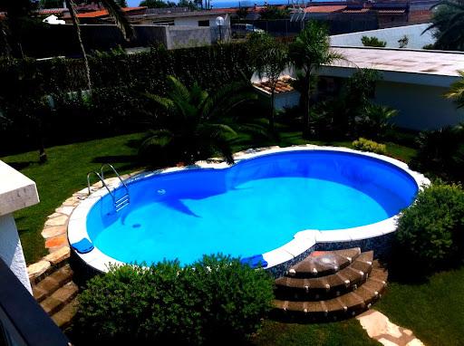 02 - Villa in residence con piscina - San Felice Circeo