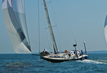 J/145 Sweet Lorraine- sailing fast with great teamwork!