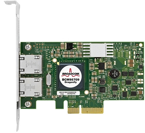 Dell Broadcom NetXtreme II 5709 (BCM5709) Dual Port Gigabit Ethernet NIC