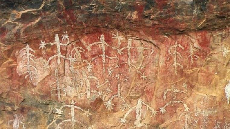 India: Rock paintings at risk of fading away