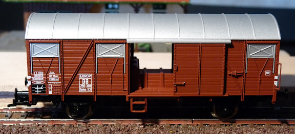Fleischmann 5310: Gesloten goederenwagen