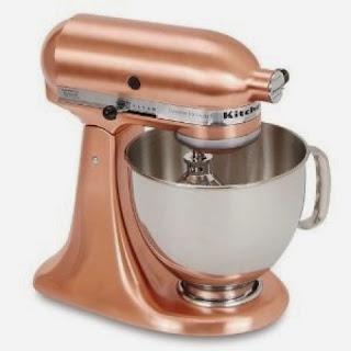 kitchen aid de cobre para una cocina a la moda