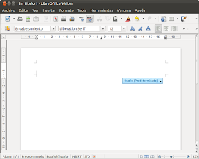 LibreOffice 3.5.0, mis primeras impresiones