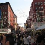 We stumbled upon a festival in Little Italy