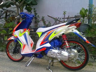 Modifikasi Motor Honda Beat Ring 17