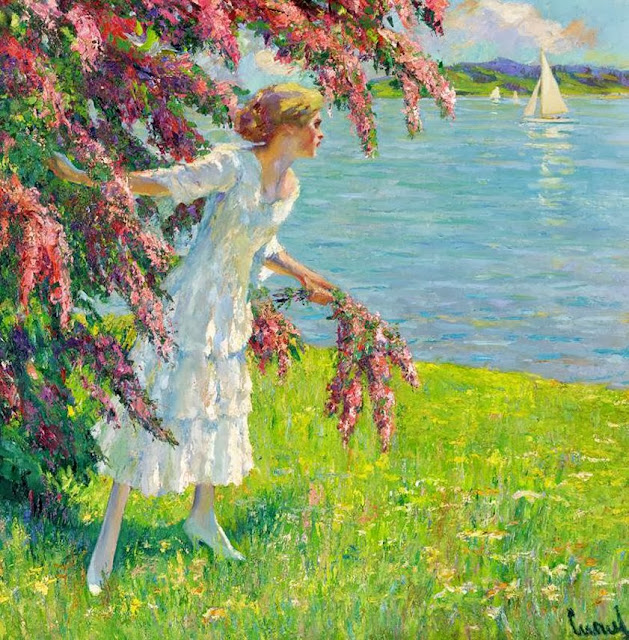 Edward Cucuel - At the Lake