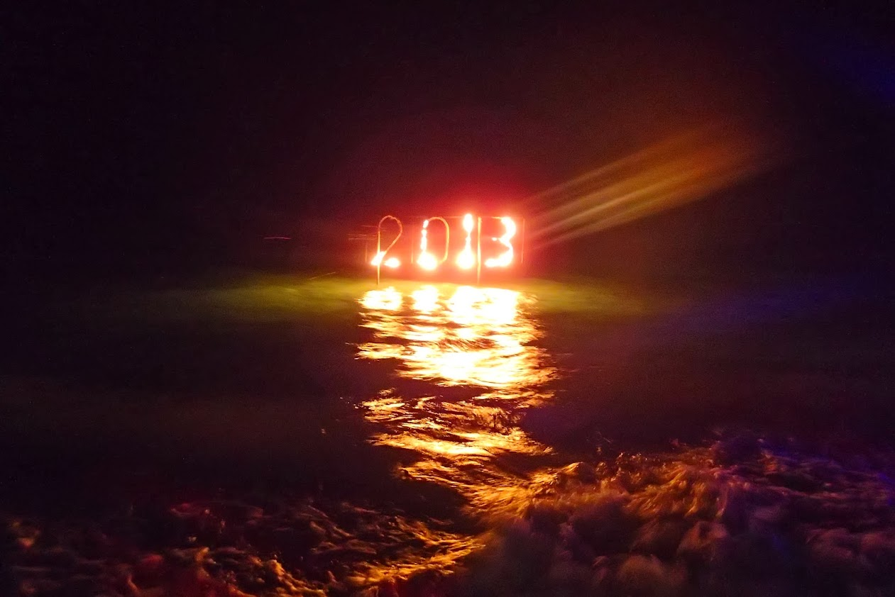 New Year in Maldives