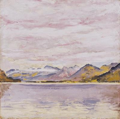 Wolfgangsee mit tiefem Horizont - ca1913