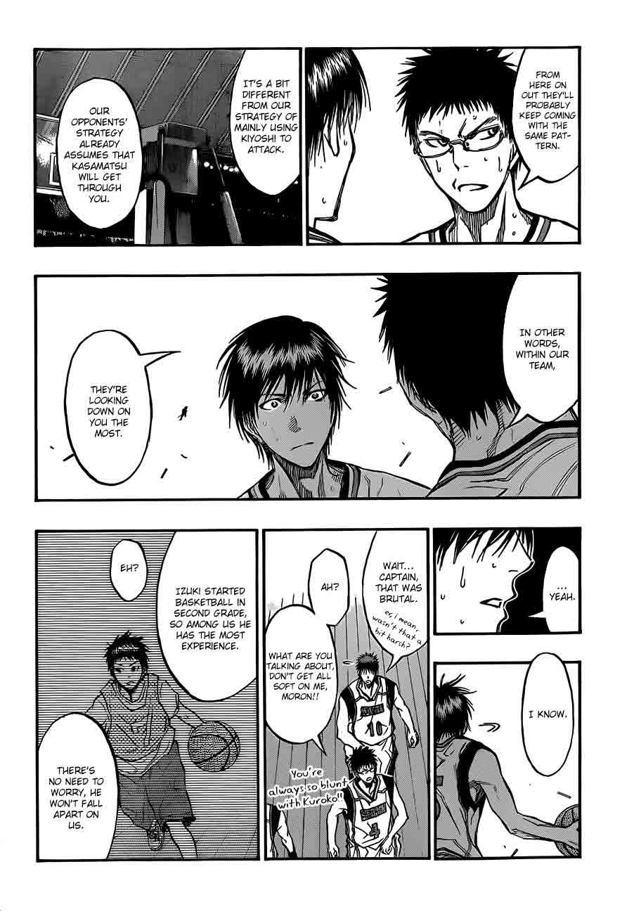 Kuroko no Basket Manga Chapter 188 - Image 14