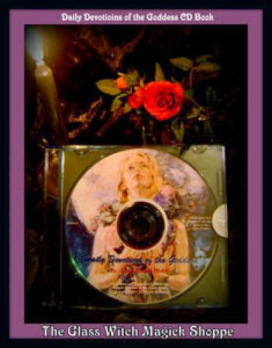 Daily Devotions Of The Goddess Cd Book By Lady Abigail 15 00