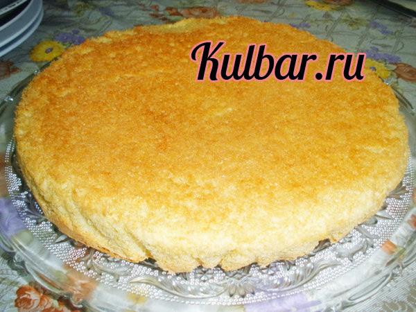 торт с маскарпоне готовый бисквит