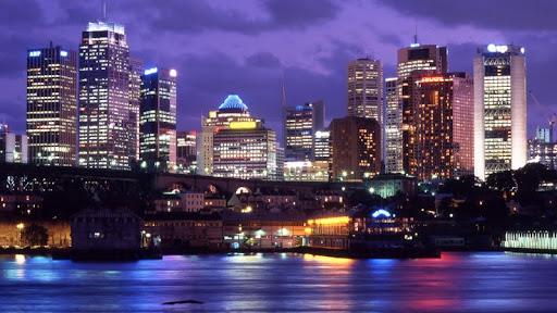 Downtown Sydney at Night, Australia.jpg