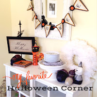 My favorite Halloween corner