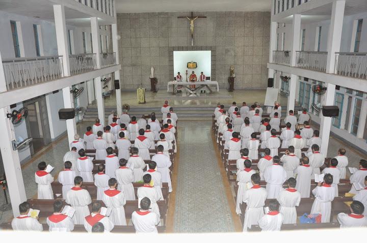 Tuần tĩnh tâm linh mục giáo phận Qui nhơn