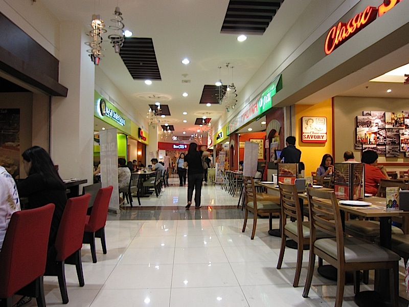 East Lane on the 2nd level of Robinsons Galleria
