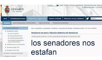 La web del Senado español se estrena con fallos de programación y ataque DoS