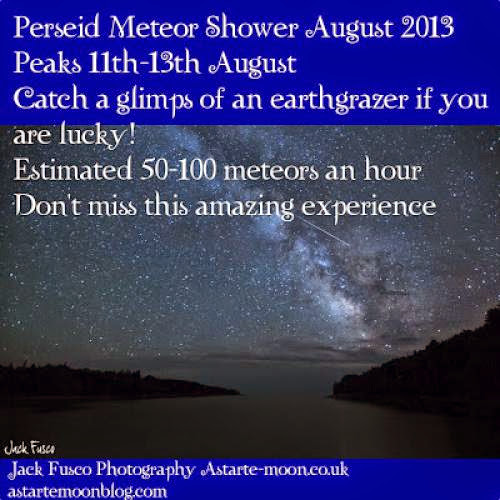 Perseid Meteor Shower August 2013 Spiritual Significance Throughout Time