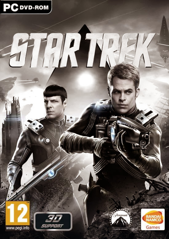 Cover Of Star Trek (2013) Full Latest Version PC Game Free Download Resumable Links at Alldownloads4u.Com