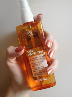 L'oreal Skin Perfection 15 Second Miracle Cleansing Oil clean perfect beauty