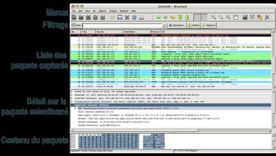 ������ Wireshark ������ ������� ���� ����� ����