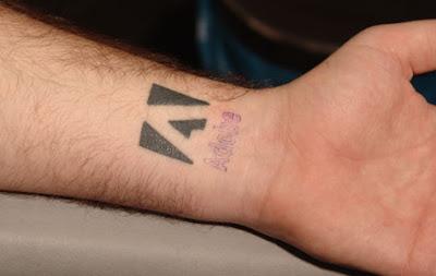 Tatuaje de adobe