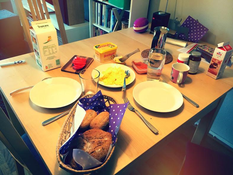 Frokostbordet