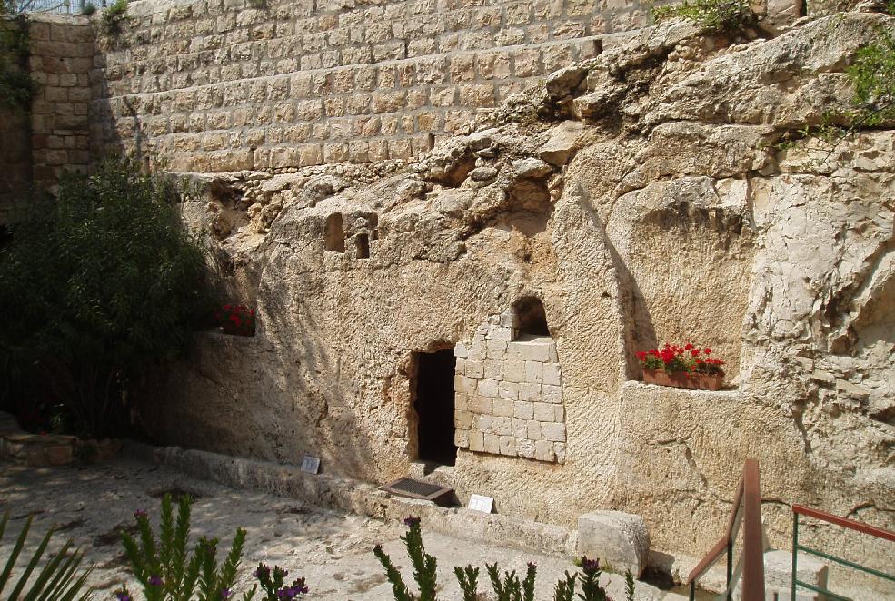 Jesus Sealed Tomb Empt...