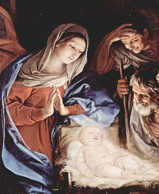 'The Nativity at Night' by Guido Reni, 1640