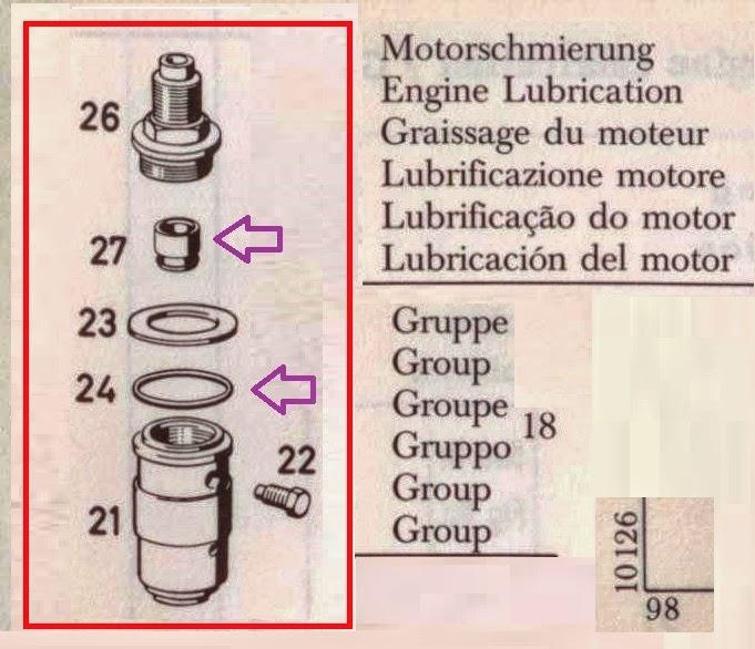fuite d 39 huile compte tour sur bloc moteur de pagode 230 sl pagode 230 sl 1964. Black Bedroom Furniture Sets. Home Design Ideas