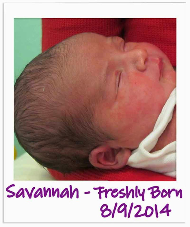 Happy 1st Birthday from Spirit of Life to Savannah