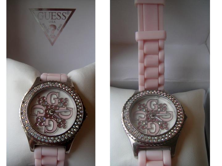 3bfdd06be58 Trago para vocês esse lindo relógio da GUESS