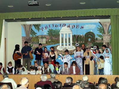 Villancico interpretado por miembros de la parroquia de San Vicente Mártir de Sigüenza