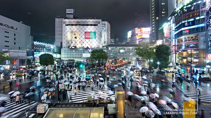 Scramble Crossing at Tokyo's Shibuya Crossing