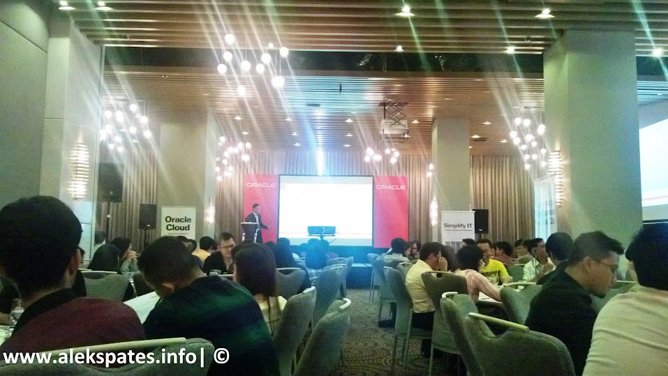 Oracle Offers Seven Services via Cloud, Oracle OTN 2013, Oracle Cloud Application Development, Oracle Cloud 2013, Oracle Cloud Service 2013, Oracle Technology Network Developer Day: Cloud Application Development, F1 Hotel Manila Bonifacio Global City