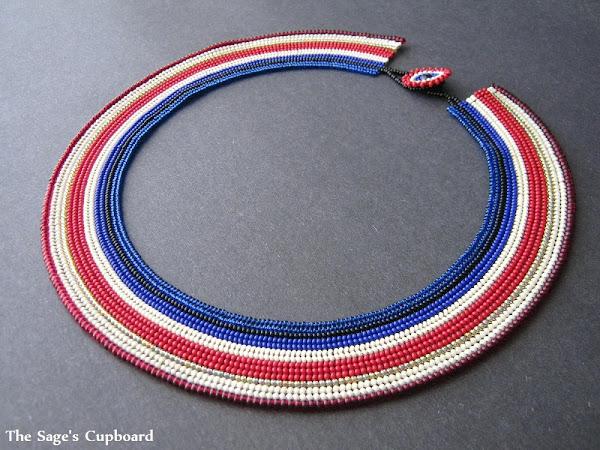 Nekhbet Egyptian Broad Collar