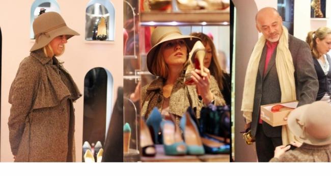 design de qualité 466f4 f353b Les Brunes Branchées Shoes: Aperçu: Blake Lively et ...