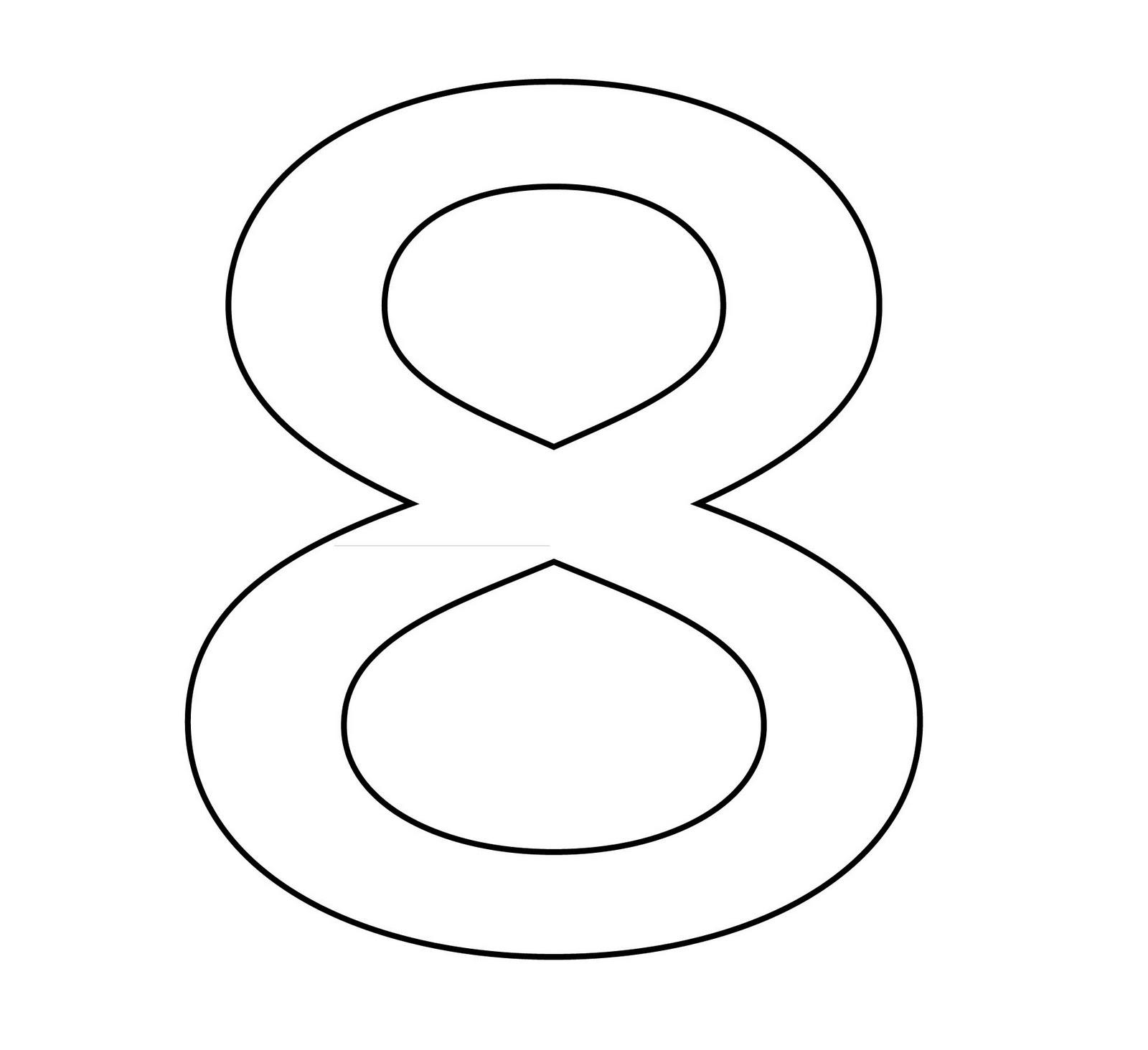 Numeros Para Colorear Para Ninos Dibujos De Los Números Para