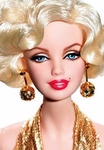 """Barbie Marilyn Monroe, como """"la Ambición Rubia"""""""