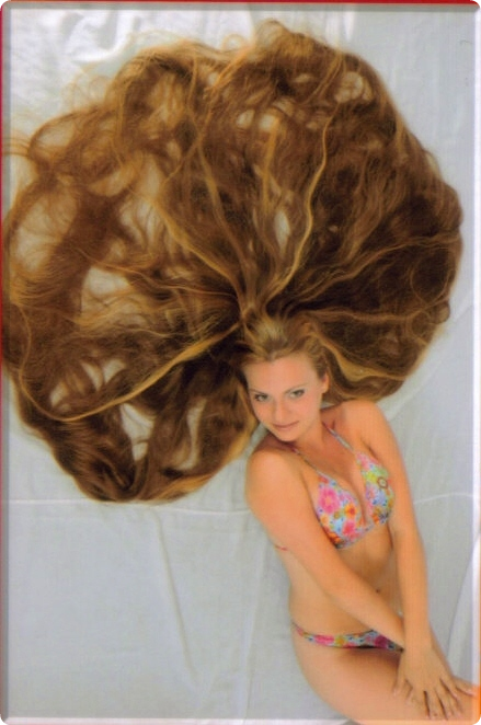 Rapunzel girl model images photos Long hair styles gallery