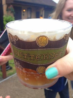 Harry Potter Studios  butter beer