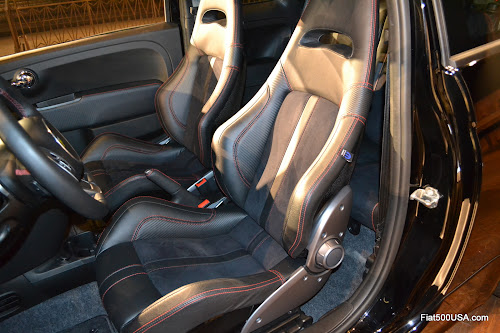 us500abarth.com - Fiat 500 Abarth Sabelt seats