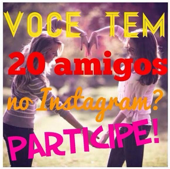 Participe da promoção do Instagram