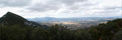 Panorámica desde Santa Ana