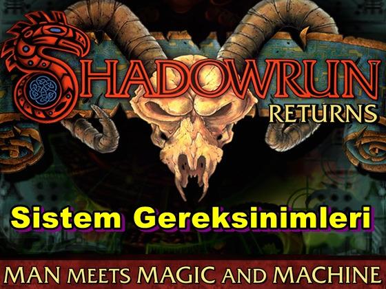 Shadowrun Returns PC Sistem Gereksinimleri