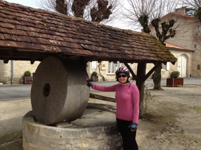 French village diaries cycling Tusson Charente