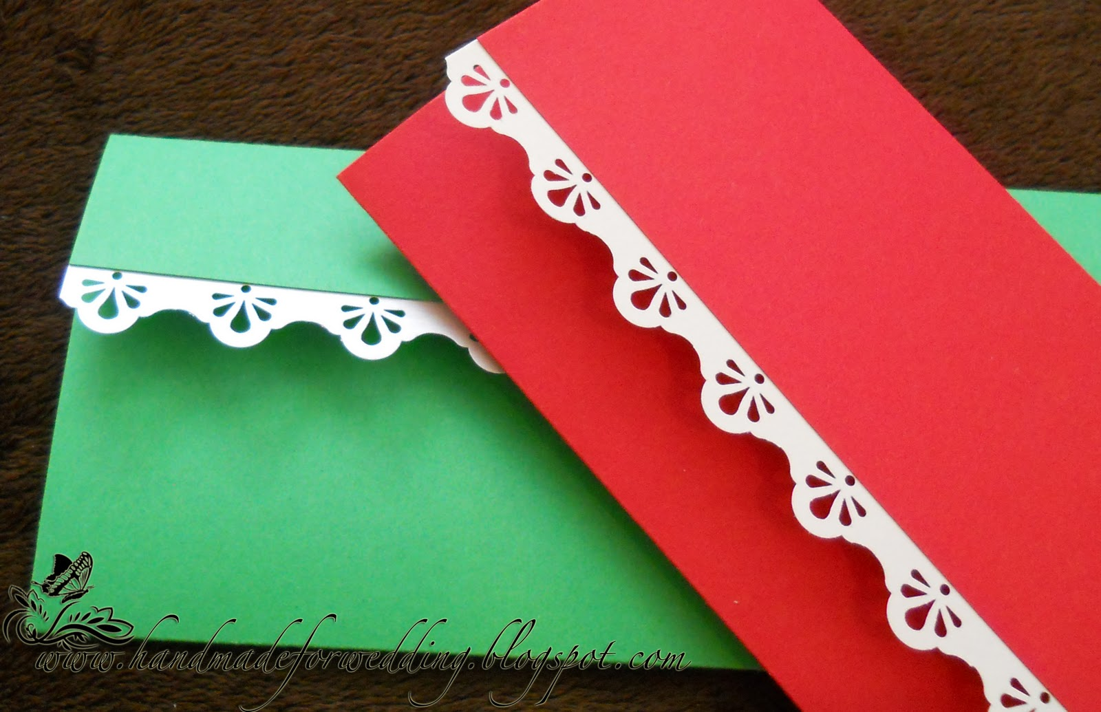 handmade wedding invitation | gabrieladachin