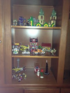 LEGO Display at Home