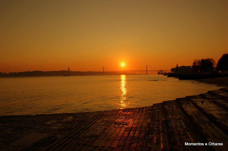 Por do sol em Lisboa, Ponte 25 de Abril