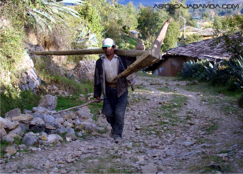 Camino del caserío Mollepamba - Cajabamba